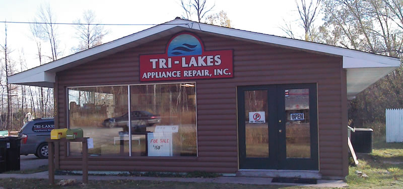Tri-Lakes Appliance Storefront
